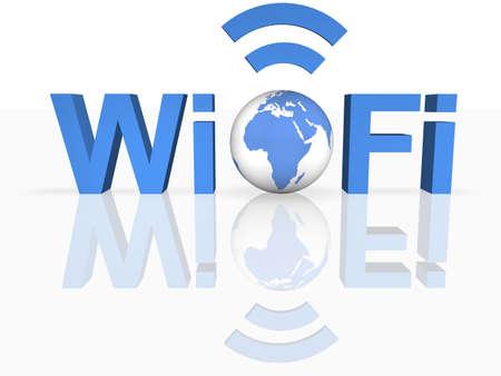 WiFi-Thechnology Standard-Bild - 8205527
