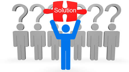 Solution Concept  Stock Photo - 8205530