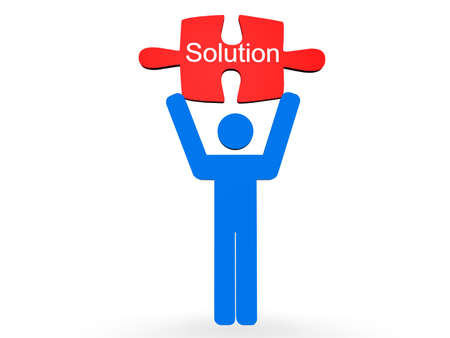 Solution Concept Stock Photo - 8205534