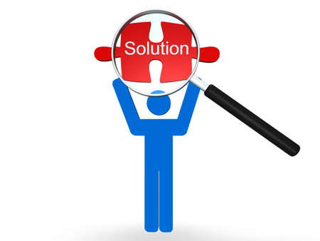 Solution Concept Stock Photo - 8205523