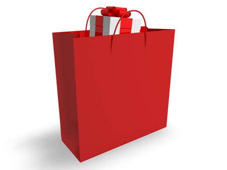 Gift in Shopping Bag