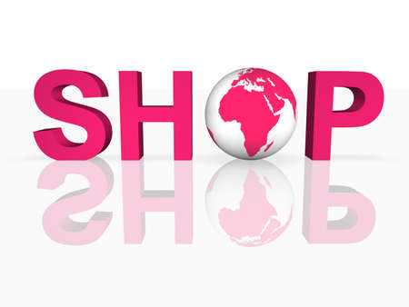 Global Shopping Stock Photo - 8277875