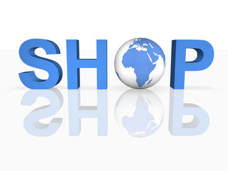 Global Shopping Stock Photo - 8277886