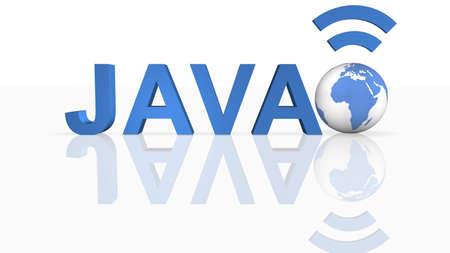 Java Concept  Banque d'images