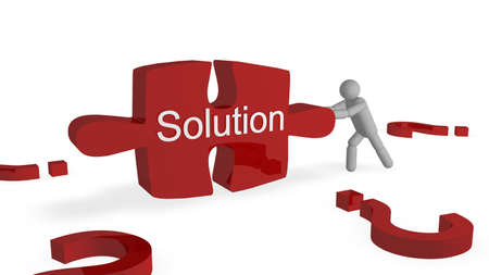 Solution Concept Stock Photo - 8414884