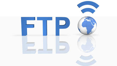 FTP Connection Stock Photo - 8414895