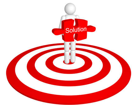 Solution Concept  Stock Photo - 8414900