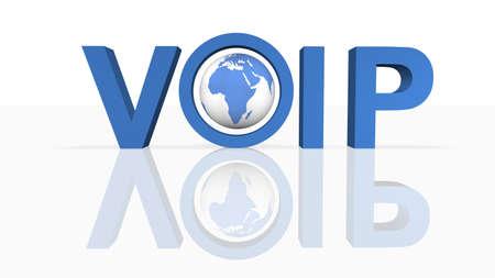 ip: Voice Over IP  Stock Photo