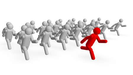 follow the leader: Follow the Leader  Stockfoto