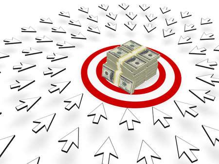 Site Web trafic  Banque d'images - 8446303