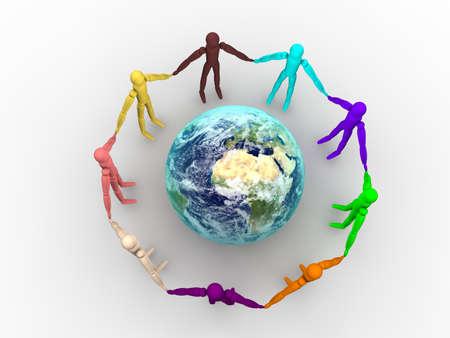 Community Concept  Banque d'images