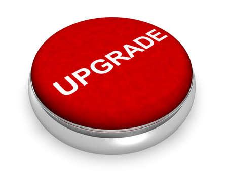 Online Upgrade  Stock Photo