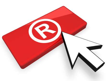registered: Online Registered Symbol