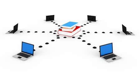 Educación en línea  Foto de archivo - 8522177