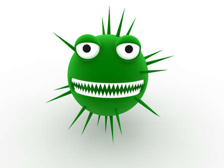 troyan: virus concept