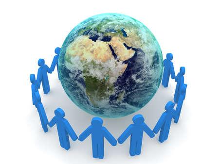Social-Network-Konzept  Standard-Bild - 8677210