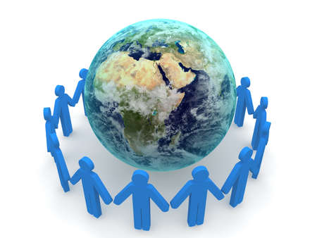 Social Network Concept  Standard-Bild