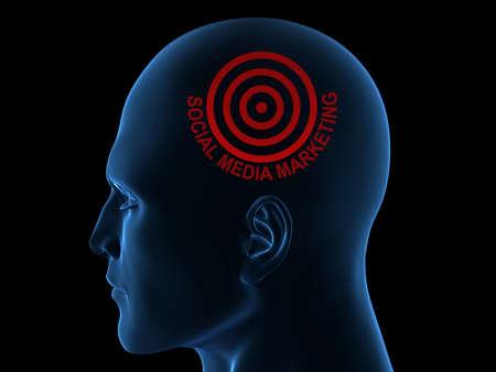 Social Media Marketing  Stock Photo