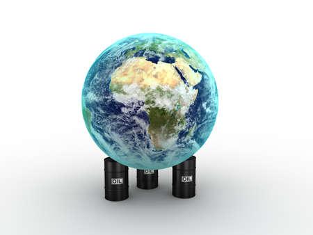 Oil concept  photo