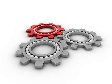 Gears concept Banque d'images - 8799921