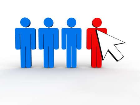 Web Marketing Concept Stock Photo - 9016788