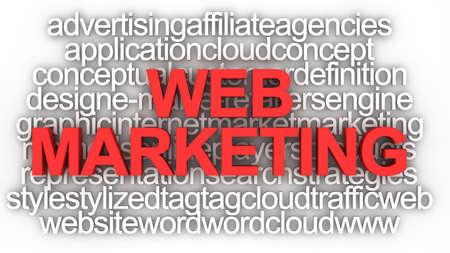 Concept de Marketing Web  Banque d'images - 9016852