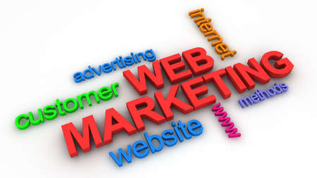 Web Marketing Concept  photo