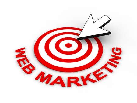 Web Marketing Concept Stock Photo - 9016849