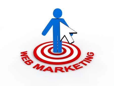 Web Marketing Concept Stock Photo - 9016790