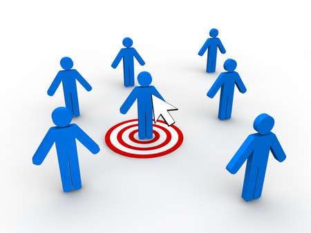 Concept de Marketing Web  Banque d'images - 9016845