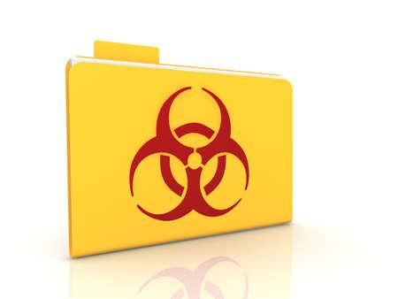 Biohazard concept Stock Photo - 9092141