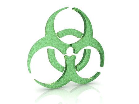 Biohazard concept  Stock Photo - 9092146