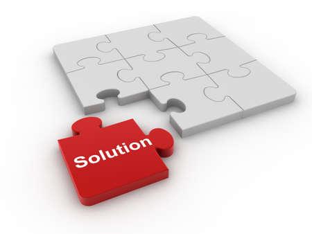 Puzzle concept  Banque d'images