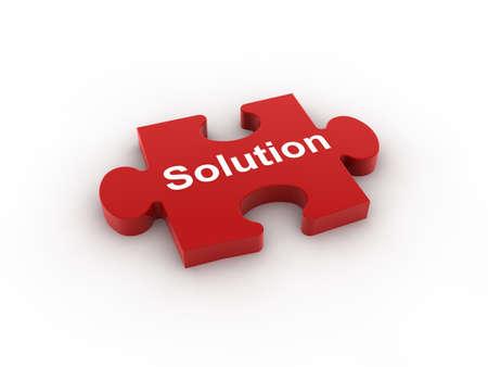 Puzzle concept  Standard-Bild