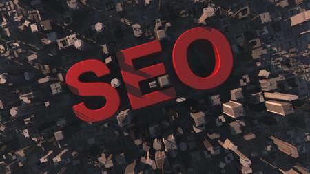 metadata: SEO concept  Stock Photo