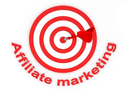 Le marketing d'affiliation Banque d'images - 9356298