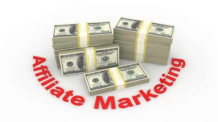 Affiliate marketing Stock Photo - 9356295