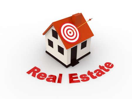 Real Estate concept  Banque d'images
