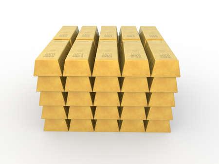 goldbars: Gold concept
