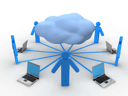 Cloud Computing Concept Stock Photo - 9387875