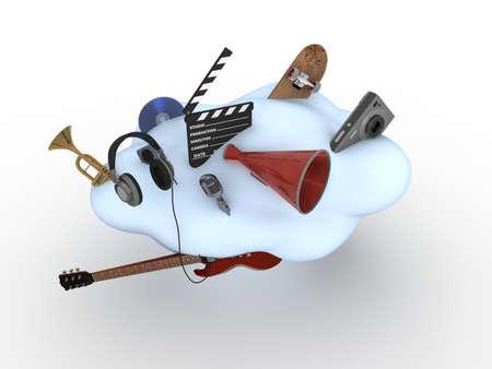 Cloud Computing Concept  photo