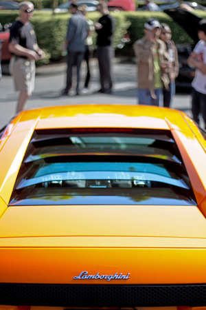 Redmond - June 2012 - Image of a Lamborghini at the Exotics at Redmond Town Center