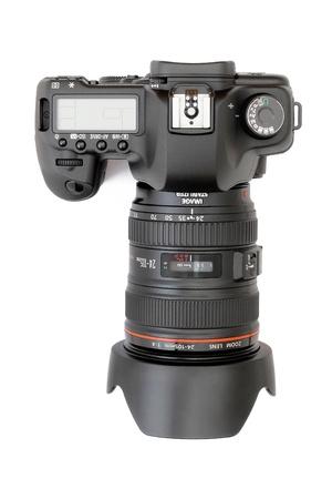 telephoto: Modern digital camera lens
