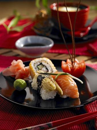 A beautifully composed oriental delicacy  Zdjęcie Seryjne