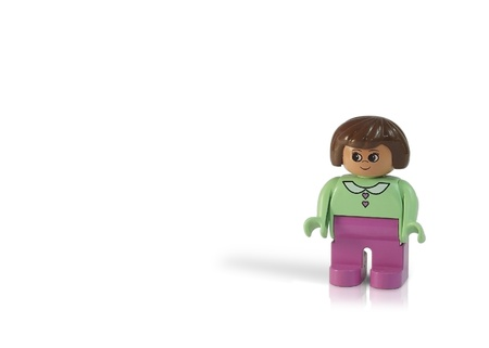 A lonely little Duplo girl