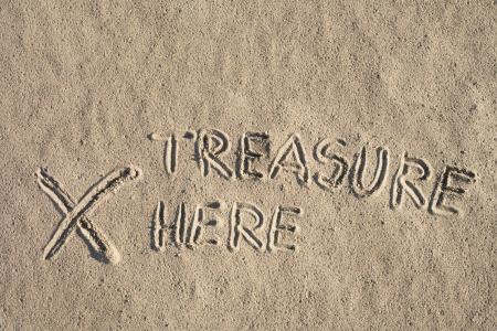 beroofd: Mysterieuze teken op zand