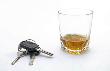 incartade: Boire ou conduire Banque d'images