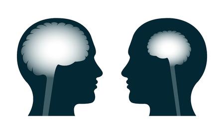 Une personne intelligente contre une personne stupide