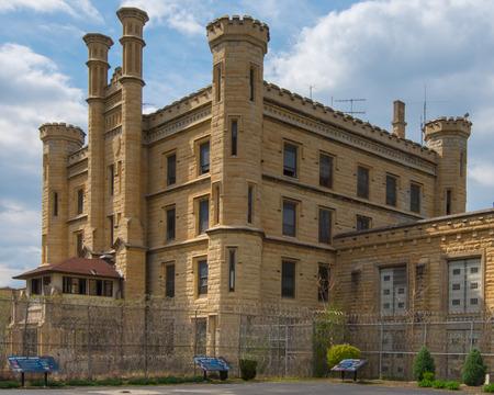 correctional: Route 66  Joliet Correctional Center  a k a  Joliet Prison  on Route 66, Joliet, Illinois