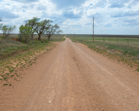 Route 66   Dirt 66 , the infamous Jericho Gap, near Alanreed, TX
